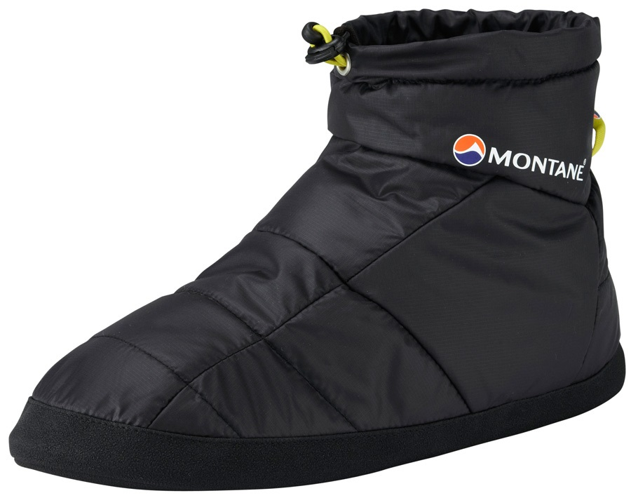 Montane Prism Bootie Insulated Camping Slippers S Black