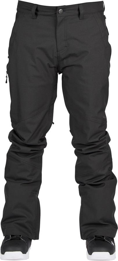 Bonfire Surface Ski/Snowboard Pants, S Black