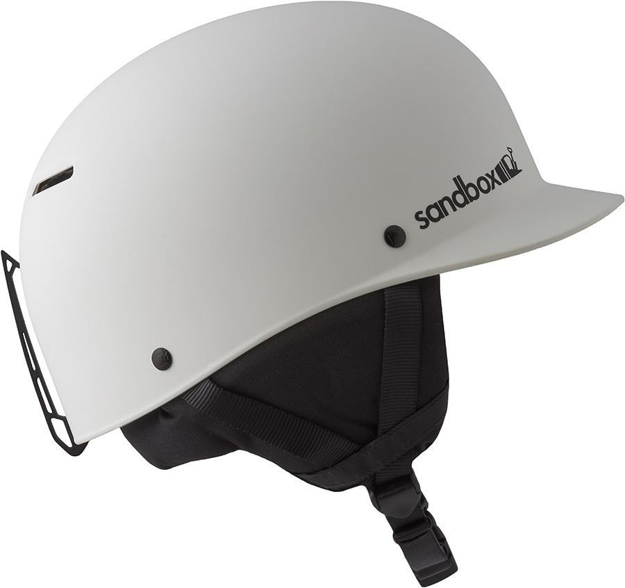 Sandbox Classic 2.0 Snow Ski/Snowboard Helmet, M Matte White