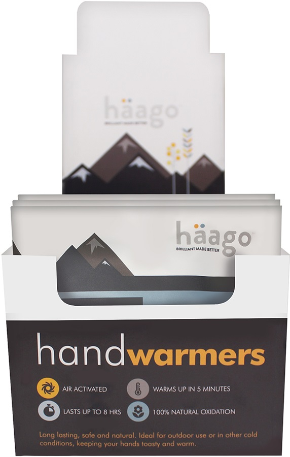 Haago Disposable Hand Warmers, 20 Pairs