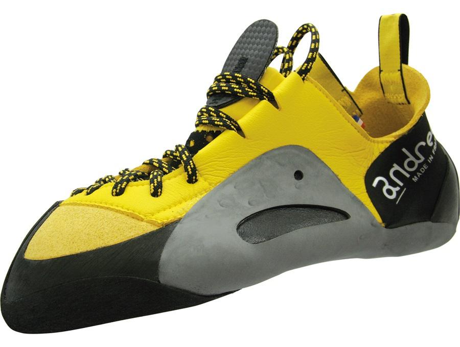 Andrea Boldrini Apache Talisman Rock Climbing Shoe, UK 10 Yellow