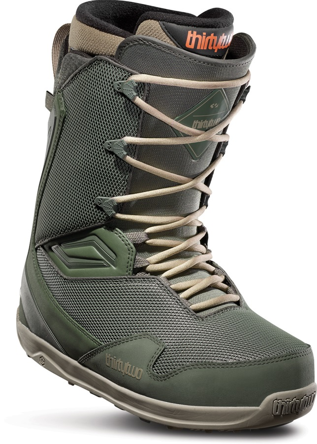 thirtytwo TM-Two Men's Snowboard Boots, UK 9.5 Green 2020