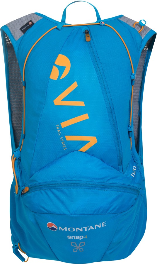 Montane VIA Snap 4 Trail Running Women's Vest Backpack, 4L Blue