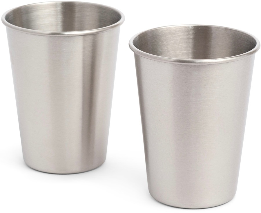 Elephant Box 350ml Stainless Steel Cup Durable Cup Set, 2 X 350ml