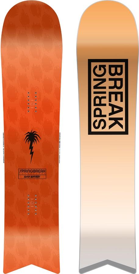 Capita Spring Break Slush Slasher Surf Rocker Snowboard, 147cm 2020