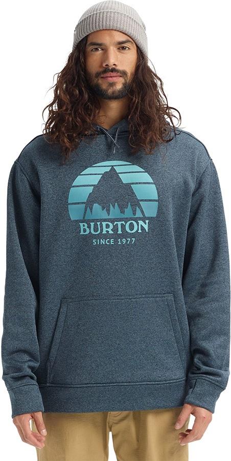 Burton Oak Pullover Ski/Snowboard Hoodie, M Sunset Dress Blue Heather