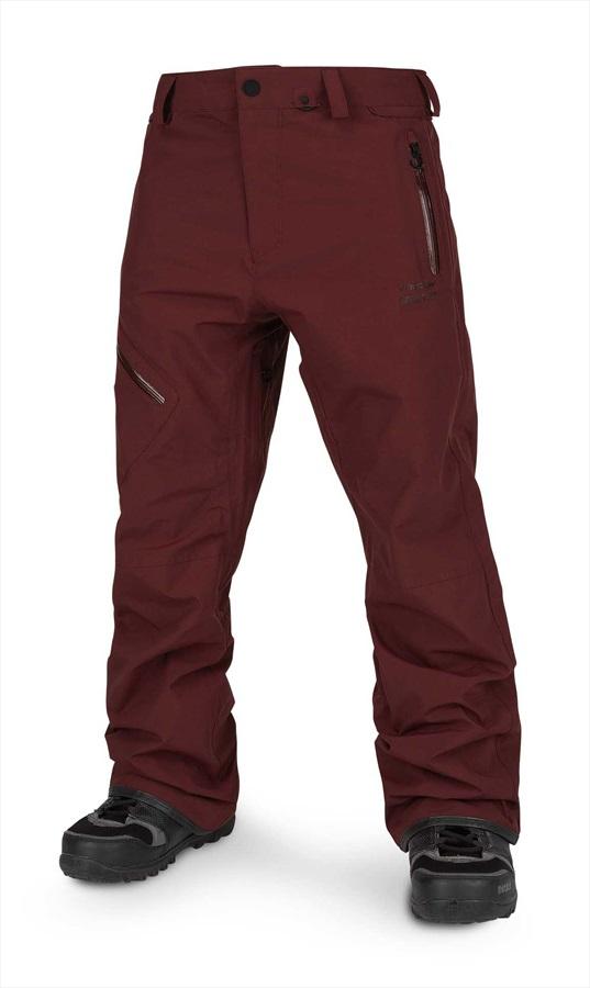 Volcom L Gore-Tex Ski & Snowboard Pants M Burnt Red