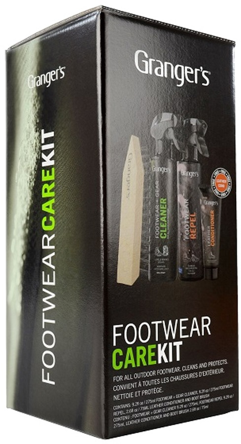 Grangers Footwear Care Kit Universal Footwear Cleaner