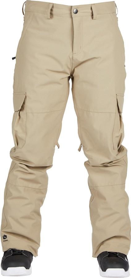 Bonfire Tactical Ski/Snowboard Pants, S Khaki