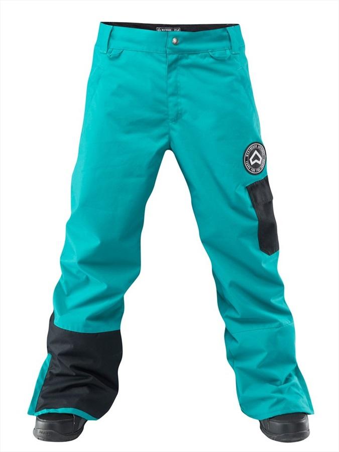 Westbeach Upstart Ski/Snowboard Pants, XL Dark Teal
