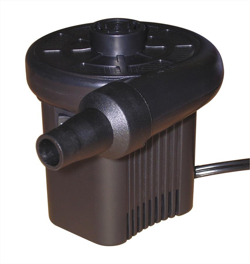 Jobe 230v W. UK Plug Electric Air Pump, Black