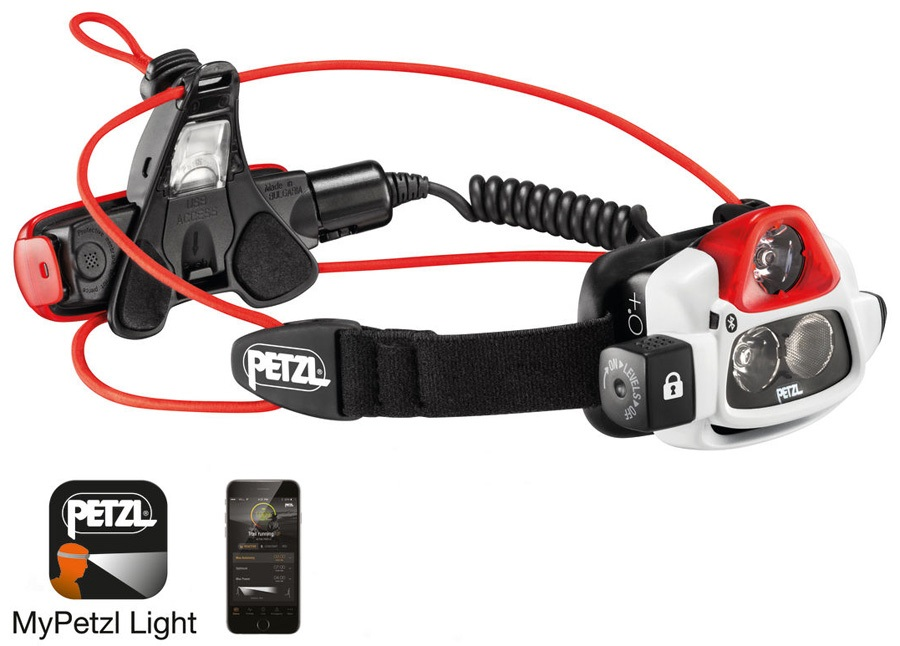 Petzl NAO + Headlamp Headtorch, 750 Lumens White/Black