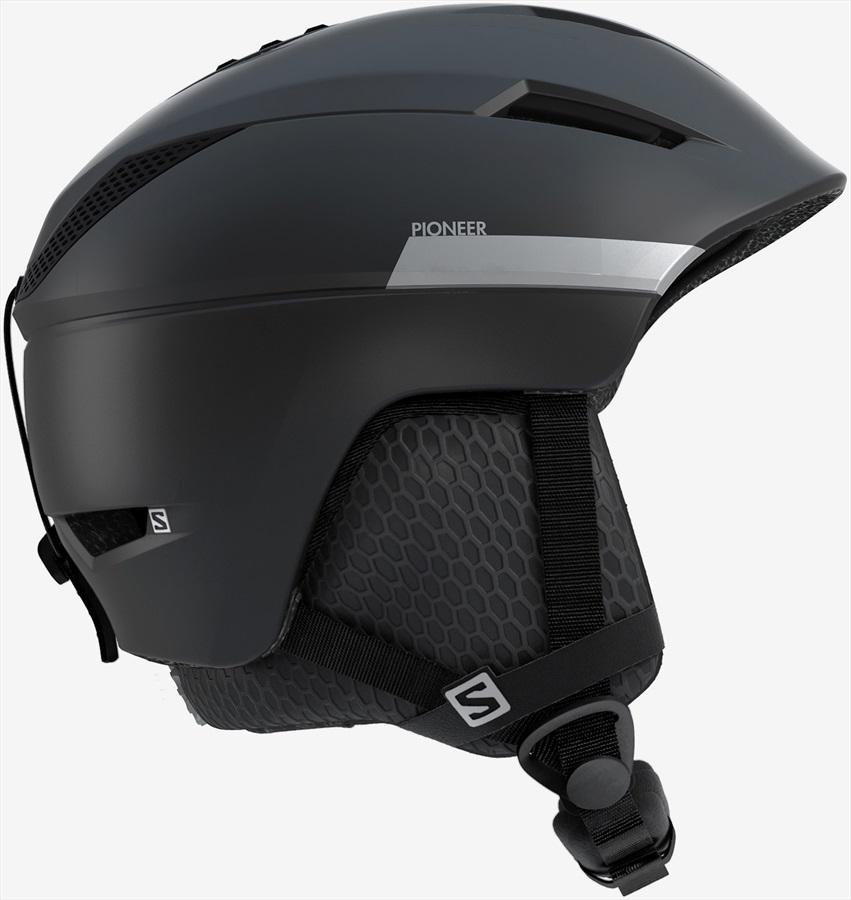 Salomon Pioneer X Snowboard/Ski Helmet, L Black