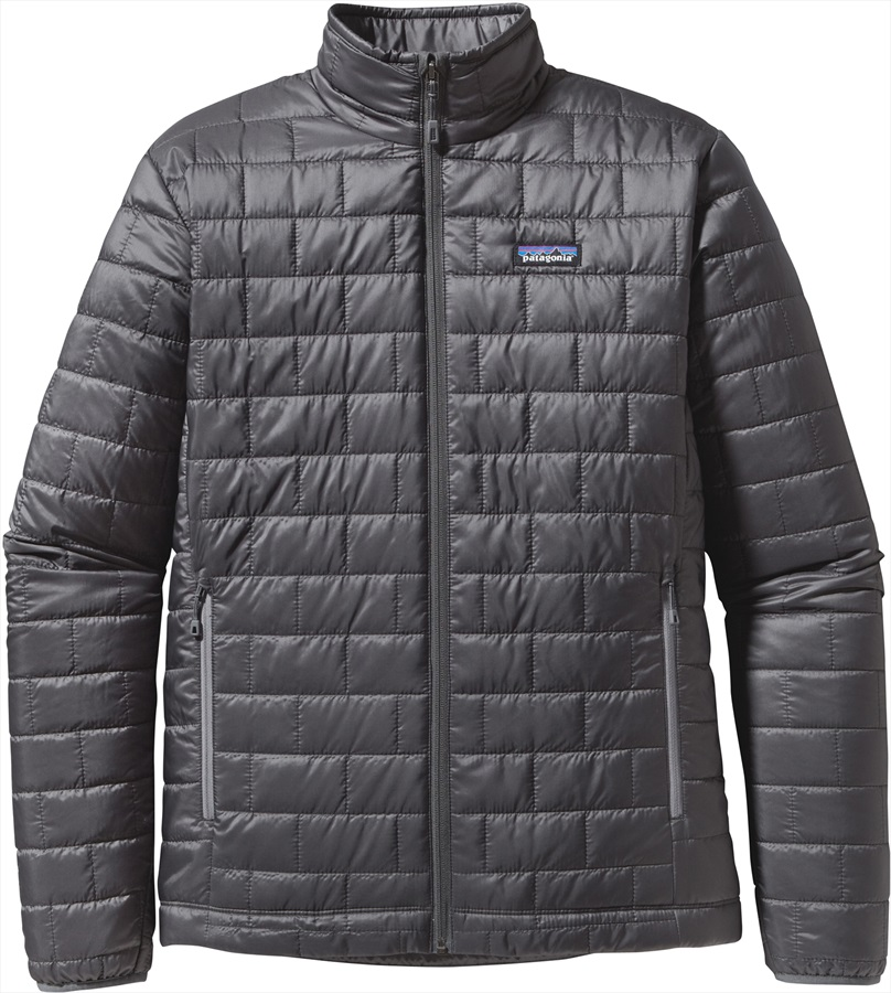 Patagonia Nano Puff Jacket Prima Loft Insulated M Forge Grey