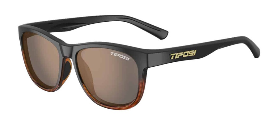 Tifosi Swank Sunglasses Brown Fade