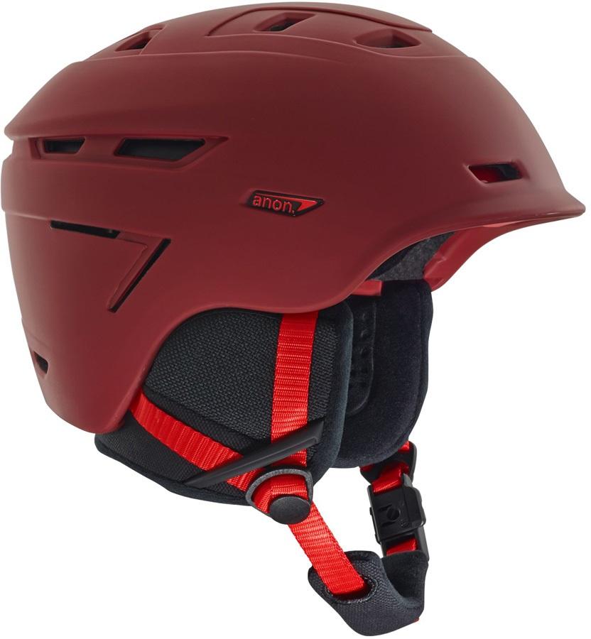Anon Echo Ski/Snowboard Helmet, M Red