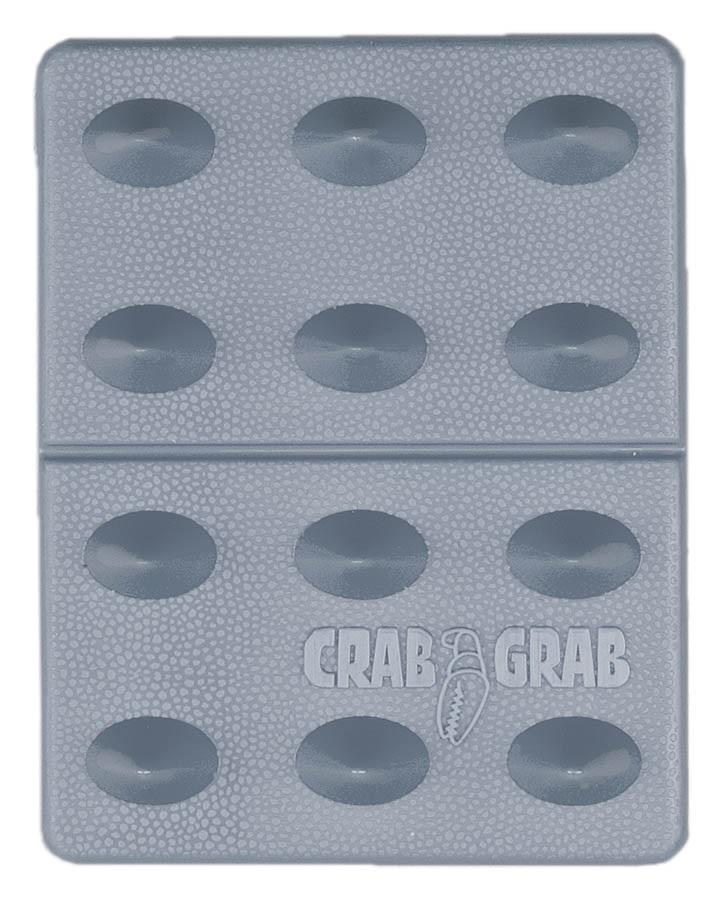 Crab Grab Mini Shark Teeth Snowboard Stomp Pad, Clear