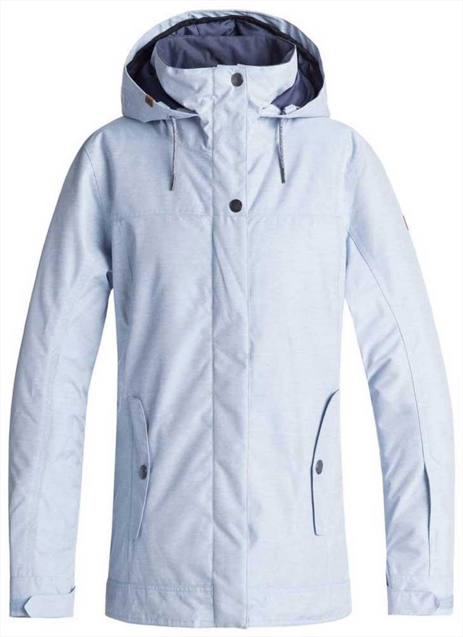 Roxy Billie Women's Snowboard/Ski Jacket, M Powder Blue