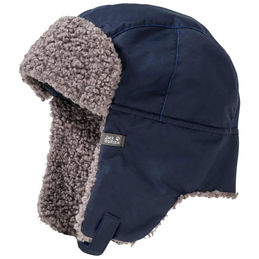 4561114c7 Jack Wolfskin Child Unisex Stormlock Paw Shapka Kids Hat, M Night Blue
