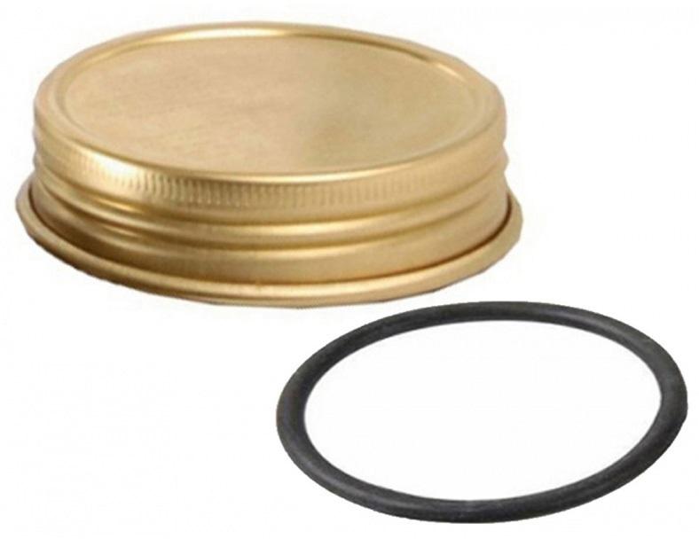 Trangia Screwcap & Washer Spirit Burner Stove Accessory, Brass