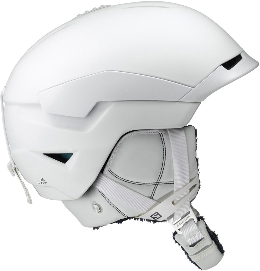 Salomon Adult Unisex Quest Women's Snowboard/Ski Helmet, S White