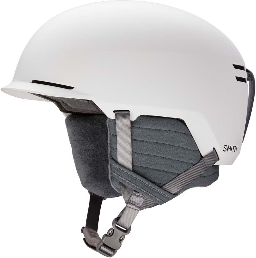 Smith Scout Snowboard/Ski Helmet, L Matte White 2020