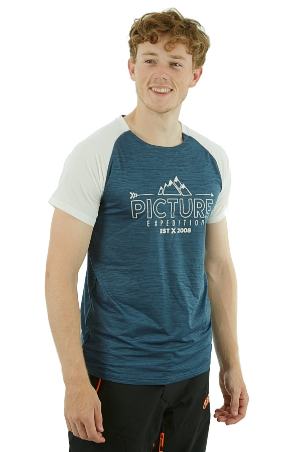 Picture Oddisee Technical T-Shirt, S Dark Blue