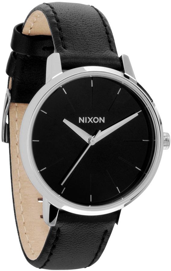 Nixon Kensington Leather Women's Watch Black