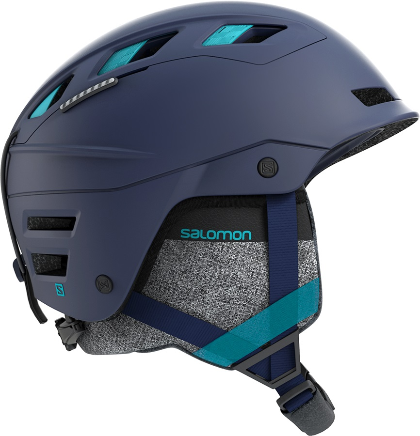 Salomon QST Charge W Women's Ski/Snowboard Helmet, S Wisteria/Blue