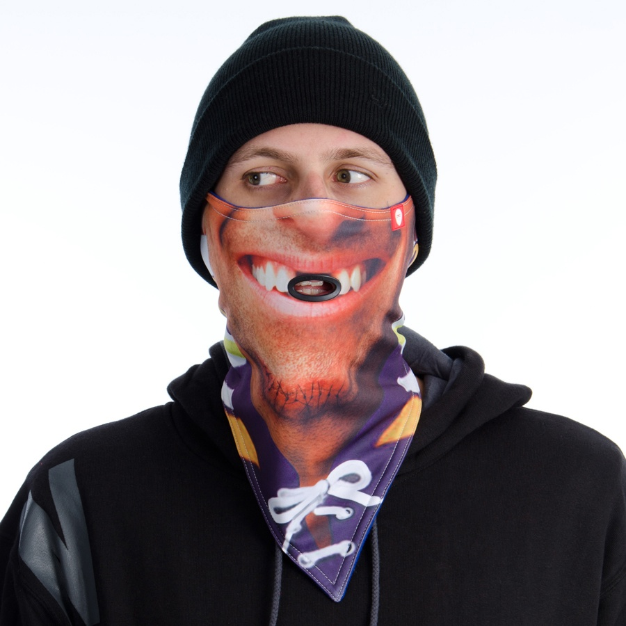 Airhole Standard Snowboard/Ski Face Mask L/XL New Defenceman