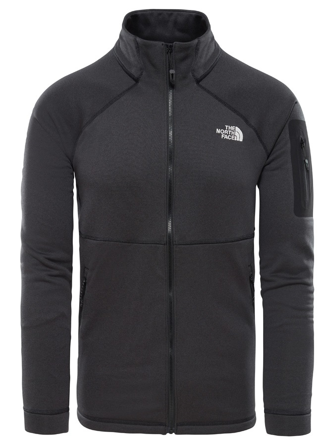 The North Face Impendor Powerdry Technical Fleece Jacket, S TNF Black