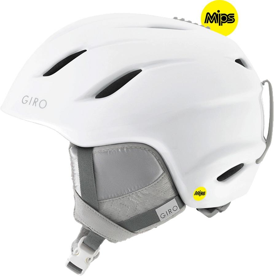 Giro Era MIPS Women's Snowboard/Ski Helmet, S Pearl White