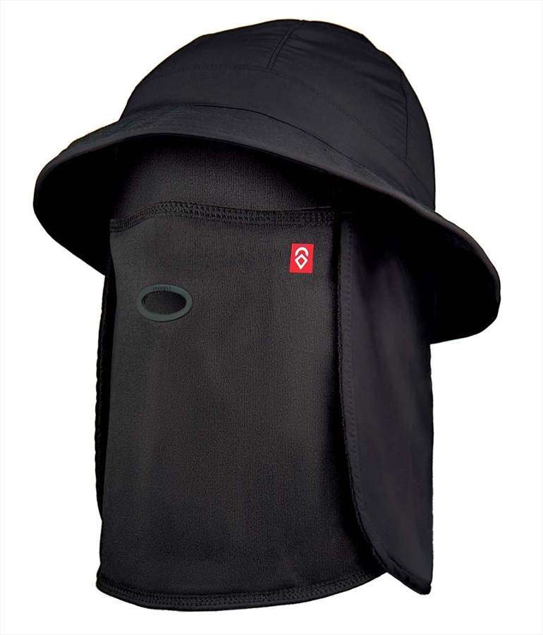 Airhole Bucket Hat Neck Chube/Hat, S/M Black