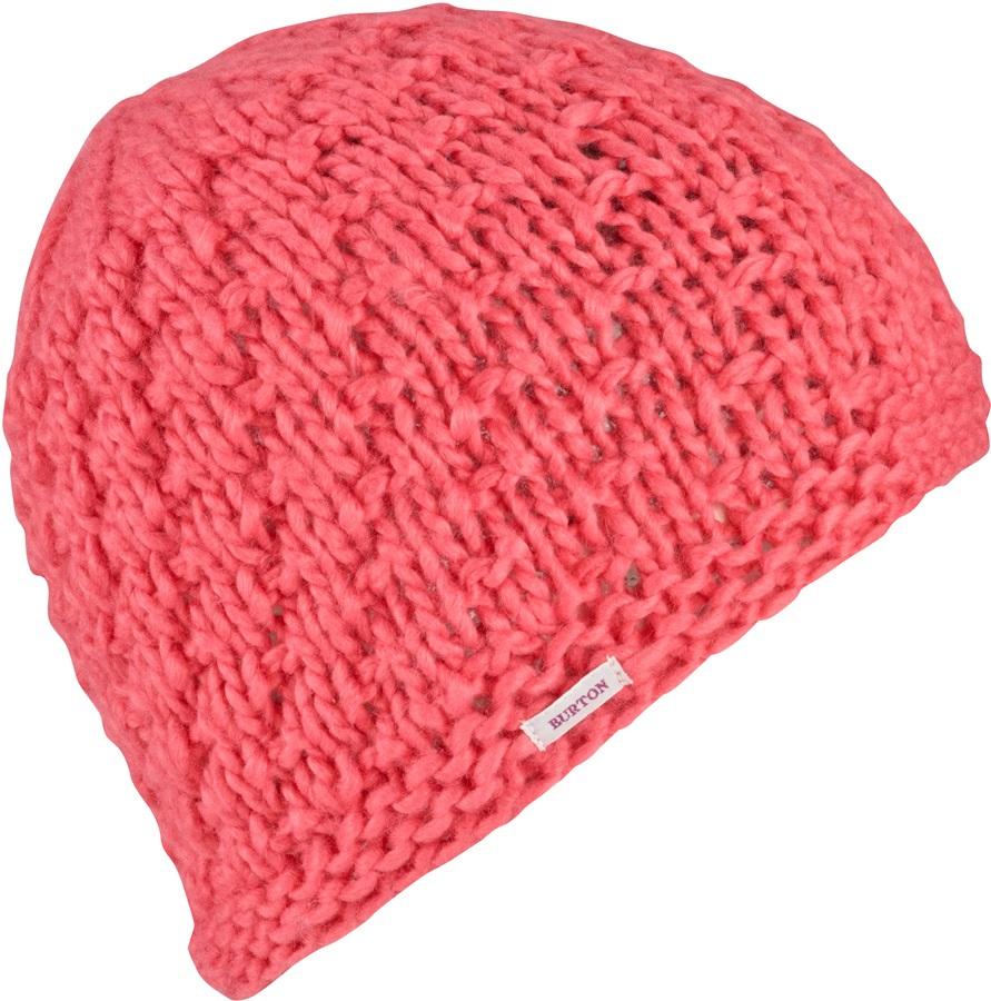 Burton Lil Bertha Slouch Knit Girl's Ski/Snowboard Beanie, Peach