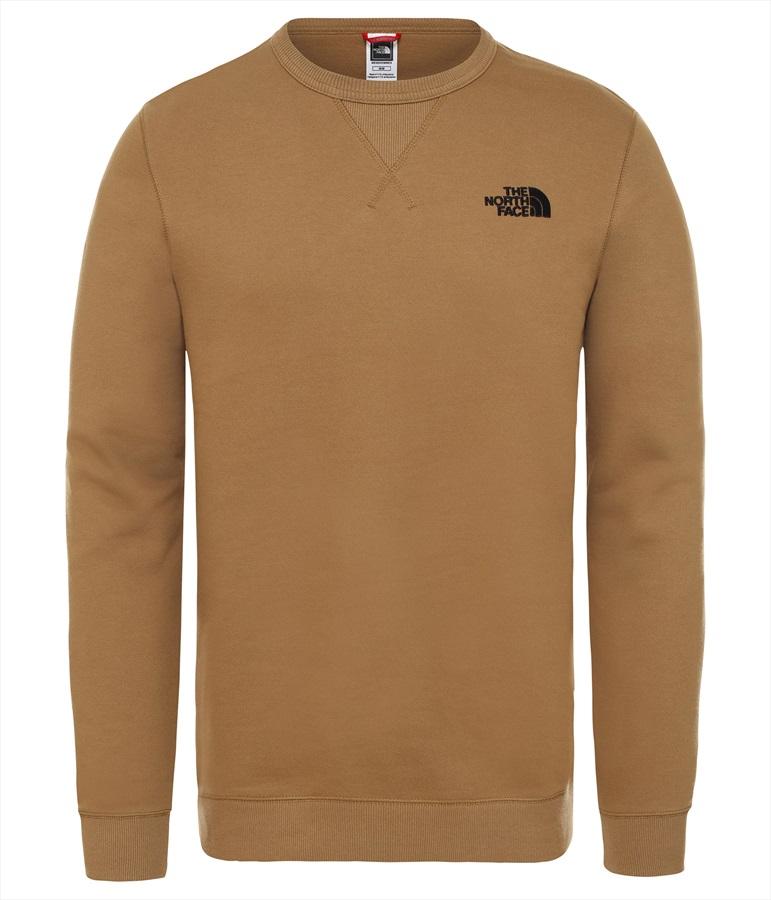 North Face Street Fleece Men's Midlayer Pullover Top, XL British Khaki