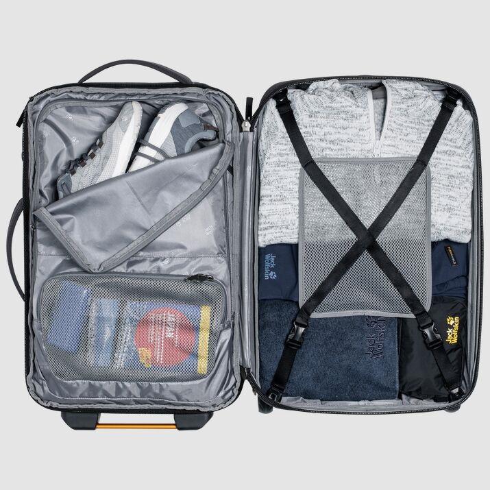 Jack Wolfskin TRT RAIL 40 Wheeled BagBackpack, 40L Pinewood
