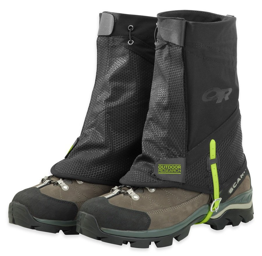 Outdoor Research Flex-Tex II Gaiters Boot Gaiter, S/M Black