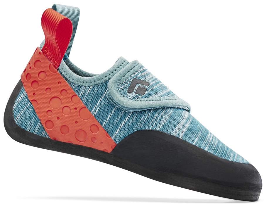 Black Diamond Momentum Kids Rock Climbing Shoe - UK 11 Kids, Caspian