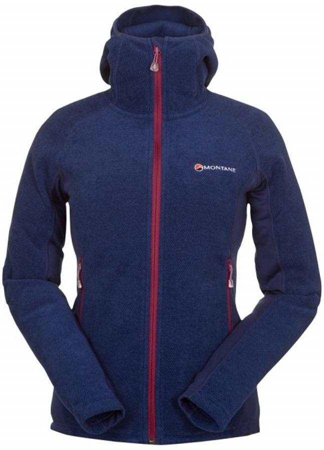 Montane Volt Hoodie Women's Fleece Jacket, XL Antarctic Blue