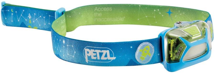 Petzl Tikkid Children's Headtorch, 20 Lumens Blue