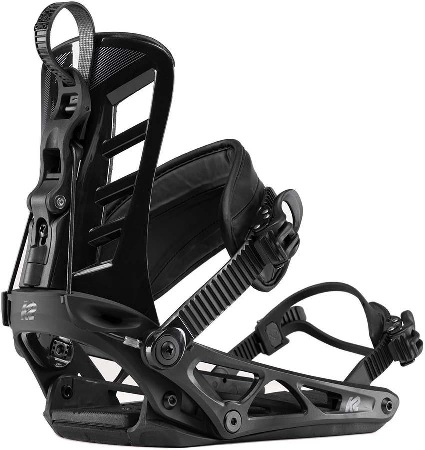 K2 Cinch TC Snowboard Bindings, XL Black 2020