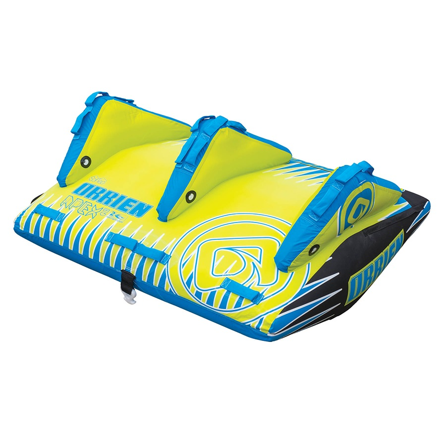 O'Brien Apex Deck Towable Inflatable Tube, 2 Rider Blue 2019