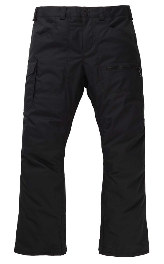 Burton Covert Insulated Snowboard/Ski Pants Trousers, S Black