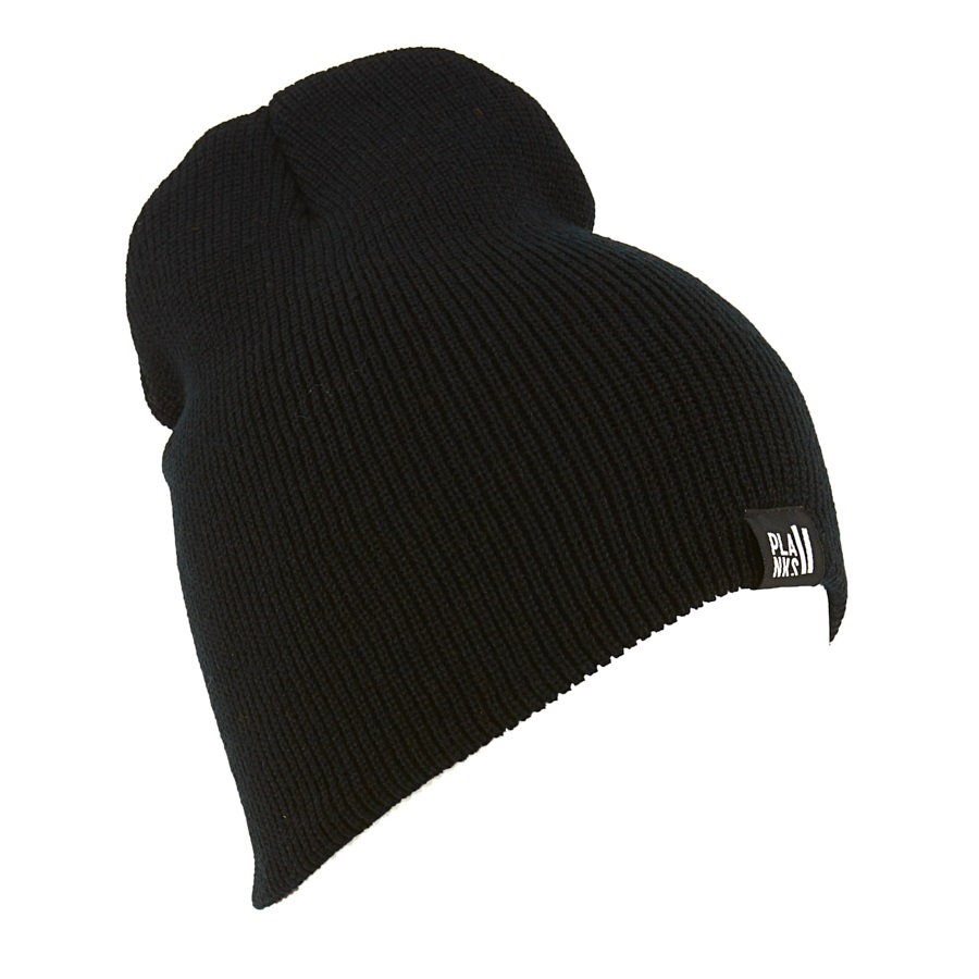 Planks Team Beanie, One Size Black