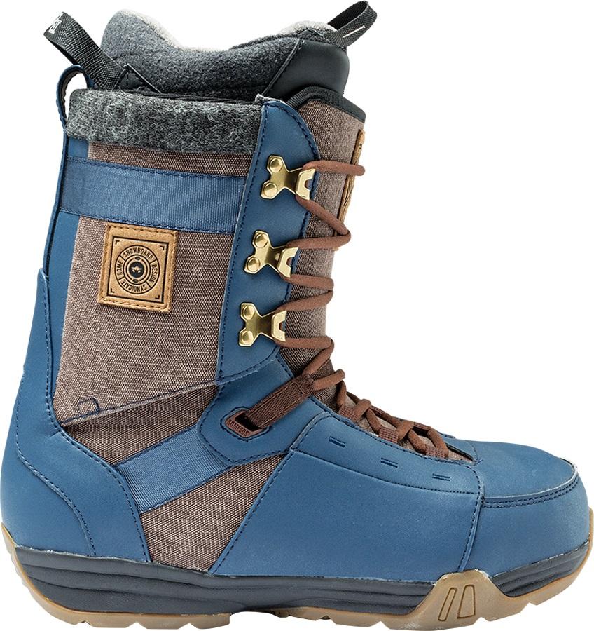 Rome Bodega Snowboard Boots, UK 8.0, Navy, 2017