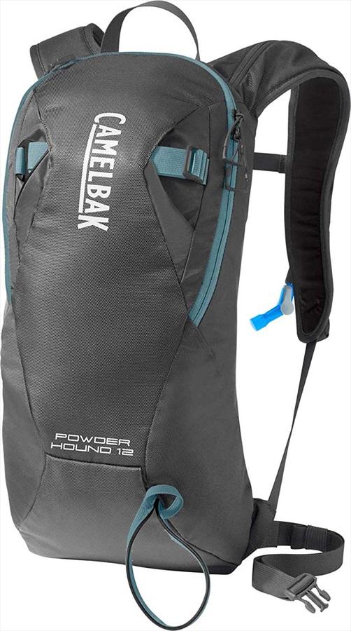 Camelbak Powderhound 12 Ski/Snowboard Backpack, 12L Graphite/Blue