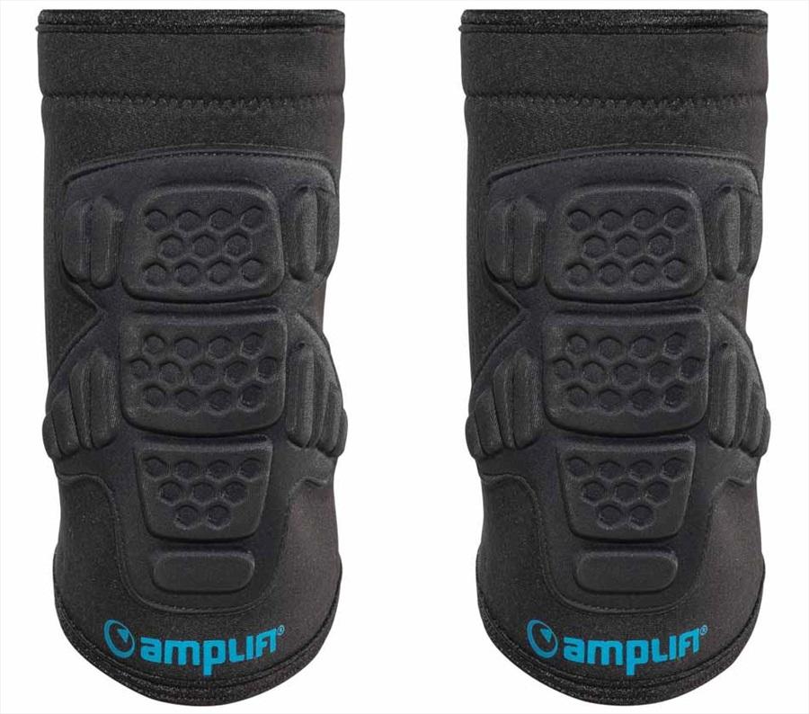 Amplifi Buffer Ski/Snowboard Elbow Pads, XL Black/Blue