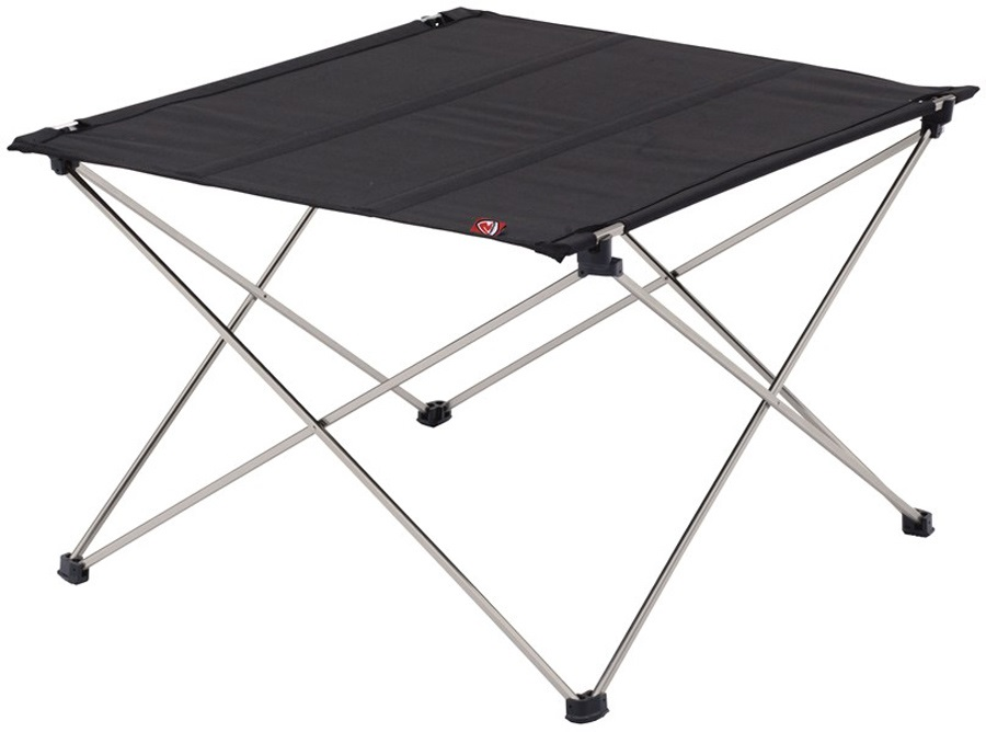 Robens Adventure Table Lightweight Folding Camp Table, Small Black