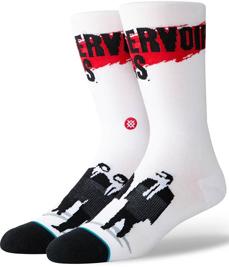 Stance Quentin Tarantino Skate/Crew Socks, L Reservoir Dogs