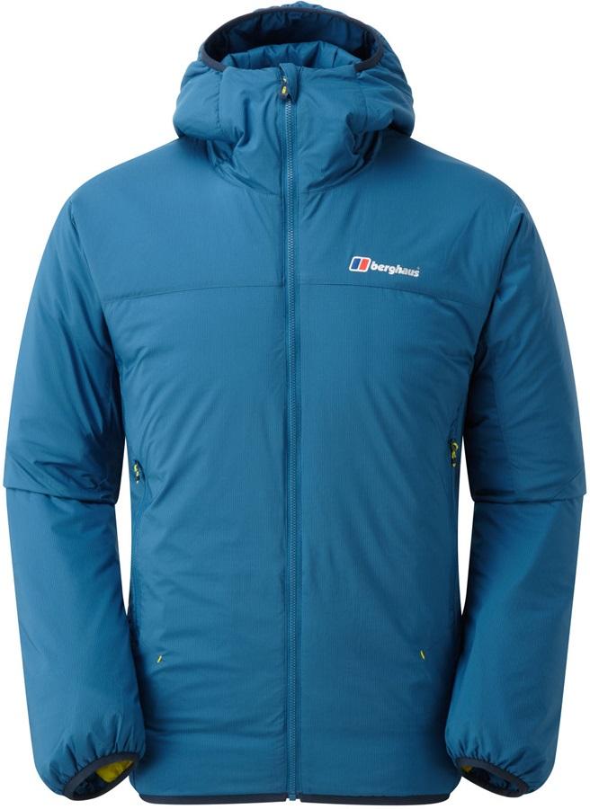 Berghaus Reversa Extrem Reversible Down Jacket, XL Poseidon/Citron